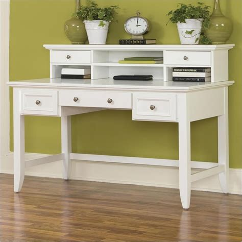 executive desk white home styles naples white finish executive desk ebay