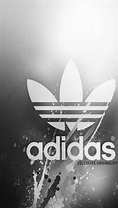 Gray Adidas Backgrounds For Iphone 5