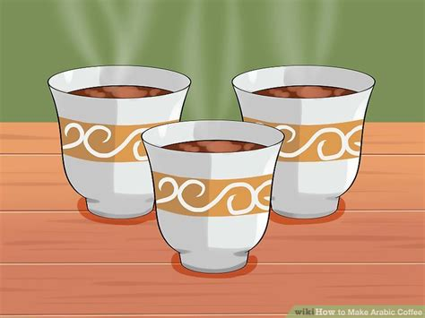 3 Easy Ways To Make Arabic Coffee (with Pictures) Primula Iced Coffee Maker Directions Burr Grinder Baratza Mr Tea Pitcher Walmart Dunkin Donuts Myer Greek Diy