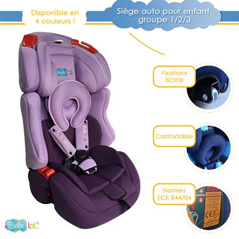 siege auto enfant isofix si 232 ge auto 233 volutif isofix b 233 b 233 lol 174 pour enfant groupe 1 2
