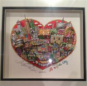 3d Pop Art : the heart of the city new york 3d pop art serigraph by charles fazzino looks great in our ~ Sanjose-hotels-ca.com Haus und Dekorationen