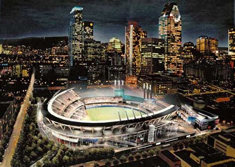 montreal expos ballpark rendering pictures