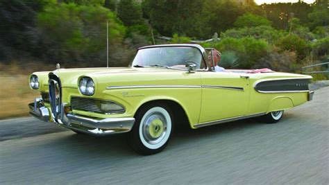 Vintage Convertible Cars by 1958 Edsel Pacer Convertible Edsel Automobiles Cars