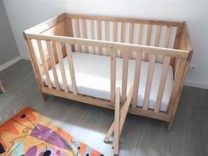Lit Bebe Barreau : evolutif la conception de ce lit respecte les normes de ~ Premium-room.com Idées de Décoration