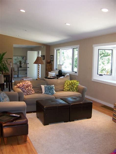 small sitting area  family contemporary family room denver