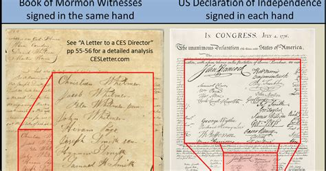 letter to ces director mormon infographics book of mormon witnesses we don t 29383