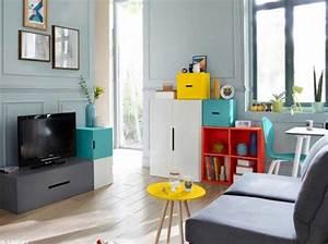 Aménagement Petit Appartement : d couvrez ce petit appartement bien organis elle d coration ~ Nature-et-papiers.com Idées de Décoration
