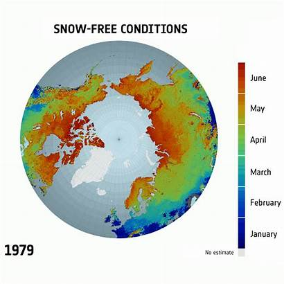 Snow Carbon Dioxide Climate Melting Earth Conditions