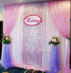 Background Decorations by New Wedding Stage Background Decoration Welcome Curtains