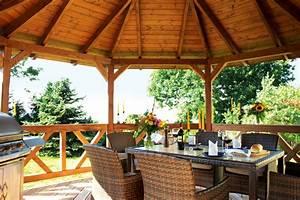 Pavillon Dach Selber Nähen : pavillon skanholz lyon 8 eck pavillion holzpavillon vom gartenhaus fachh ndler ~ Eleganceandgraceweddings.com Haus und Dekorationen