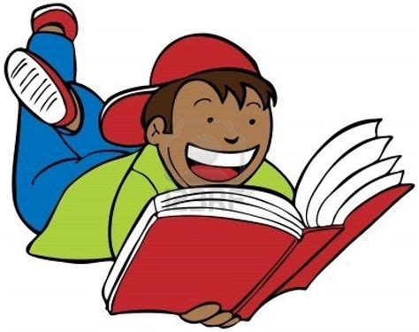 students reading clipart reading