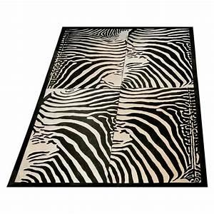 tapis vache imprime zebre With tapis peau zebre