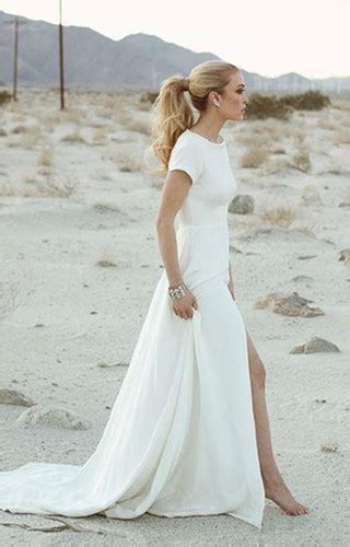 discount short casual beach wedding dresses casual beach