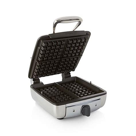 All Clad Slice Belgian Waffle Maker Crate Barrel