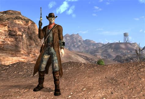 Courier Duster At Fallout New Vegas
