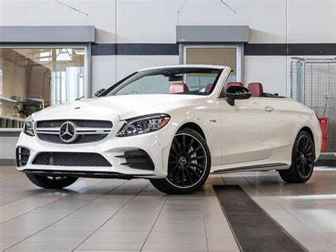 It breathes sportiness combined with emotion and intelligence. Kelowna Mercedes-Benz | New 2020 Mercedes-Benz C43 AMG 4MATIC Cabriolet for sale - $96,485