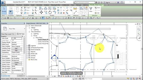 Electrical Plan Revit by Revit Electrical Power 04 Add Wires And Home Runs Revit News