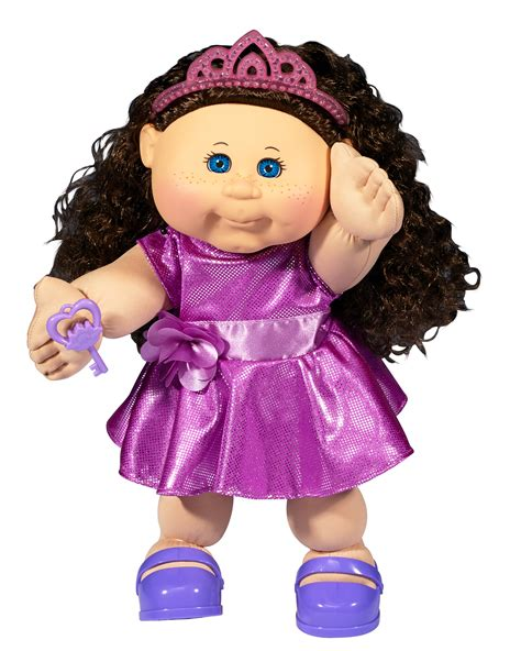 """Cabbage Patch Kids 14"""" Baby Doll: Brunette & Blue Eyes"""