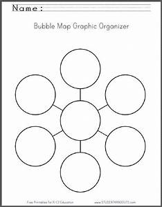 Bubble map graphic organizer worksheet free to print for Free bubble map template