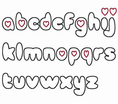Bubble Fonts Alphabet Letters Letter Font Pretty