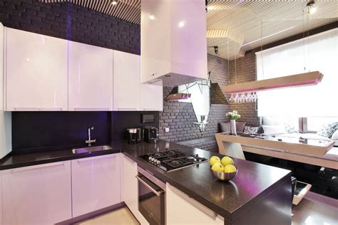 cool modern kitchen ideal  entertaining idesignarch