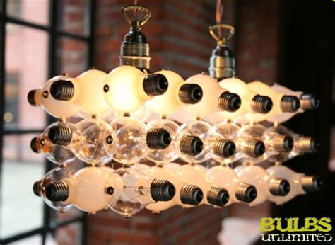 recycled light bulb lamps