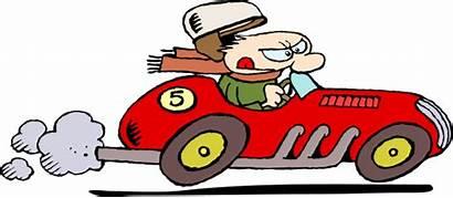 Clip Racing Race Clipart Cartoon Racecar Animated