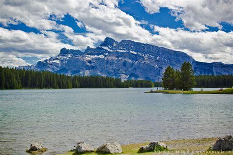 Two Jack Lake In Banff National Park Jasper National