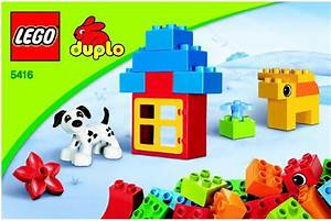 Lego Duplo Brick Box Instructions 5416  Duplo