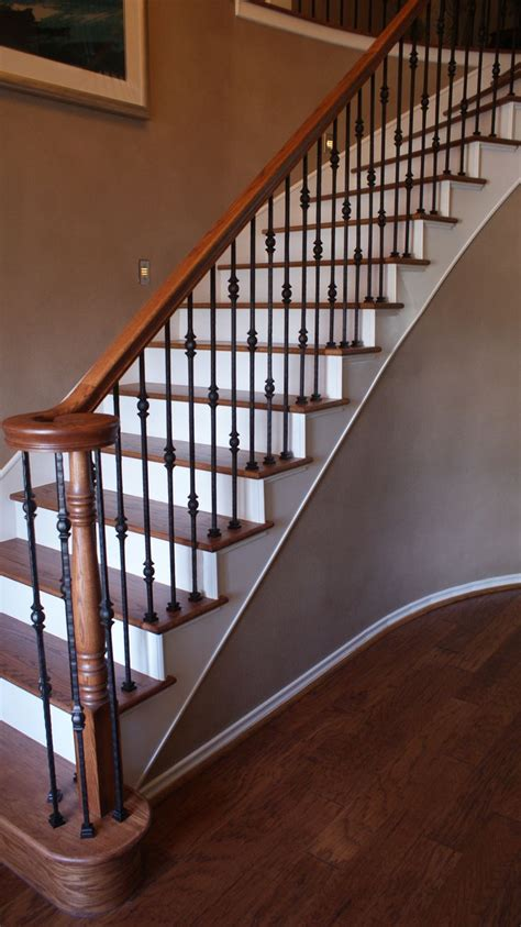 Wrought Iron Banister Rails - best 25 wrought iron stairs ideas on wrought