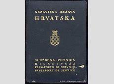 Independent State Of Croatia Passport Types