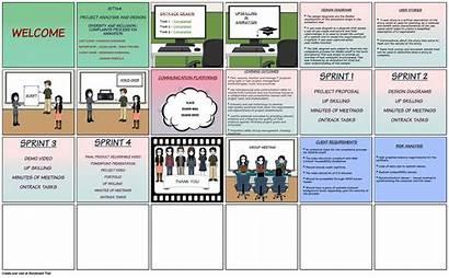 Presentation Storyboard Hafsa Slide