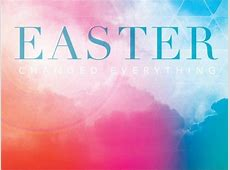 Church PowerPoint Template Easter Changed Everything