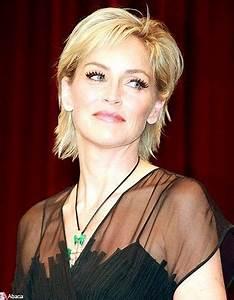 Coupe De Cheveux Pour Visage Rond Femme 50 Ans : coupe cheveux mi court femme 50 ans coiffures la mode ~ Melissatoandfro.com Idées de Décoration