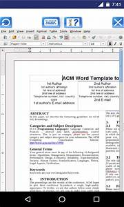 Androwriter document editor with openoffice writer using for Download document editor for android