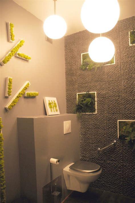decoration wc toilettes marron
