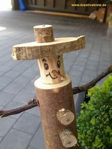 Basteln Mit Holz : 2 basteln im herbst mit kindern holz pinterest ~ Lizthompson.info Haus und Dekorationen