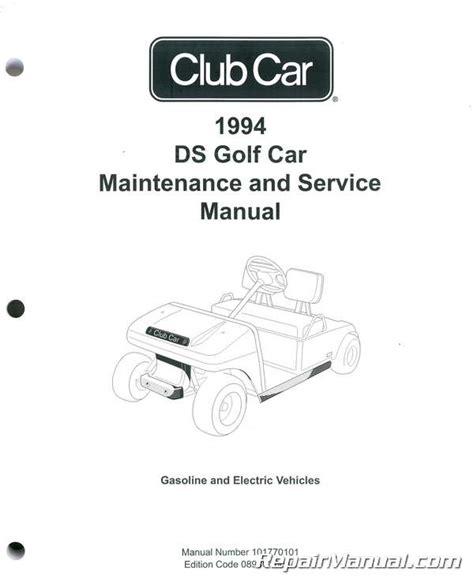 car repair manuals online pdf 1994 ford club wagon free book repair manuals 1994 club car ds golf car maintenance and service manual