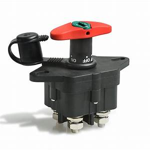 Manual Battery Disconnect Switches