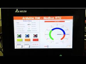 Arduino Modbus Rtu - Control Hmi Via Rs485