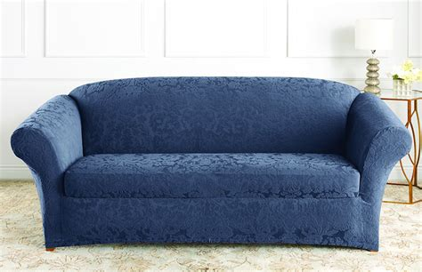 stretch jacquard damask sofa slipcover - Jacquard Sofa Cover