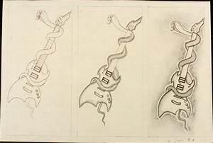 Kurt Cobain High School Art Drawing