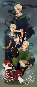 Draco by meodwa... Drarry Fanart