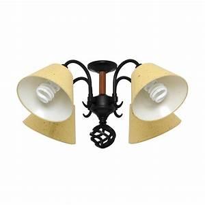 Hunter light black kraft paper shade ceiling fan