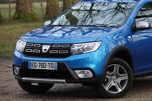 Essai Dacia Sandero Stepway : essai dacia sandero 2017 stepway tce 90 l 39 achat malin ~ Gottalentnigeria.com Avis de Voitures
