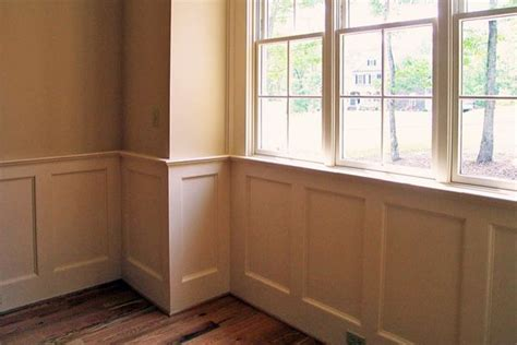 Craftsman Wainscoting by Craftsman Style Interior Trim Simple Site Built Painted