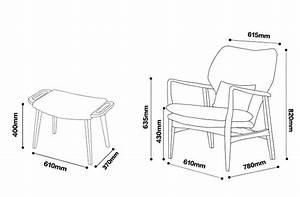 Dimension Chaise Standard : lounge chair dimensions standard ergonomics pinterest lounges chairs and lounge chairs ~ Melissatoandfro.com Idées de Décoration