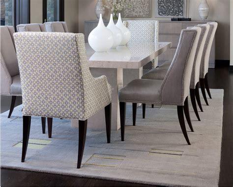 photo chaises de salle a manger design cuir