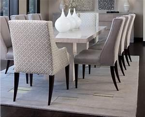 chaise de salle a manger en cuir design With salle À manger contemporaine avec fauteuil de salle À manger en cuir