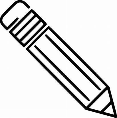 Pencil Svg Clipart Drawing Transparent Sketch Icon